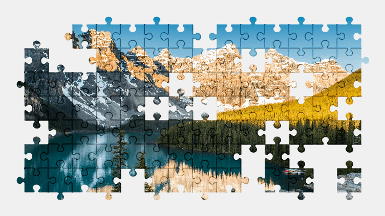 Puzzle - Krajobraz #10