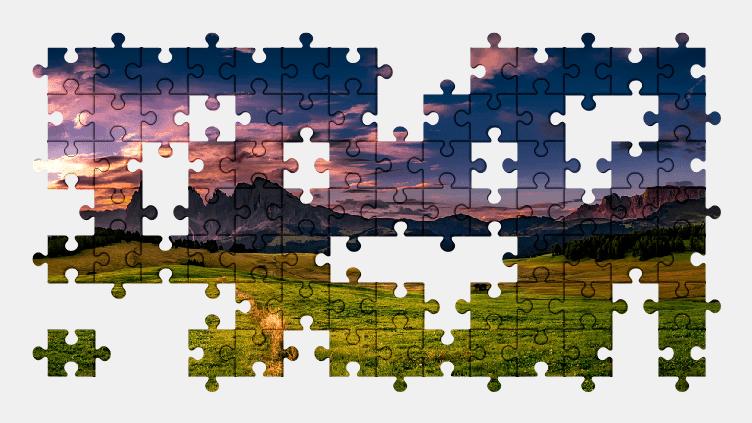 Puzzle - Krajobraz #22