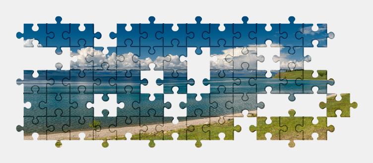 Puzzle - Krajobraz #4