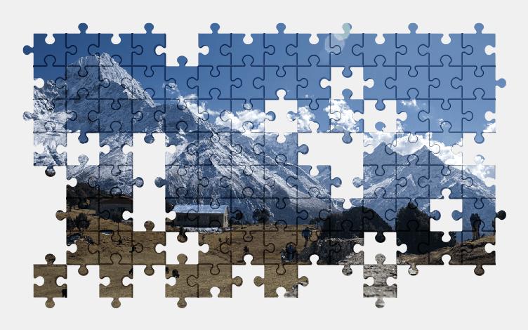 Puzzle - Krajobraz #6