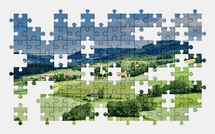 Puzzle - Krajobraz #25