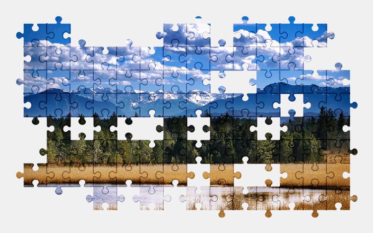 Puzzle - Krajobraz #16