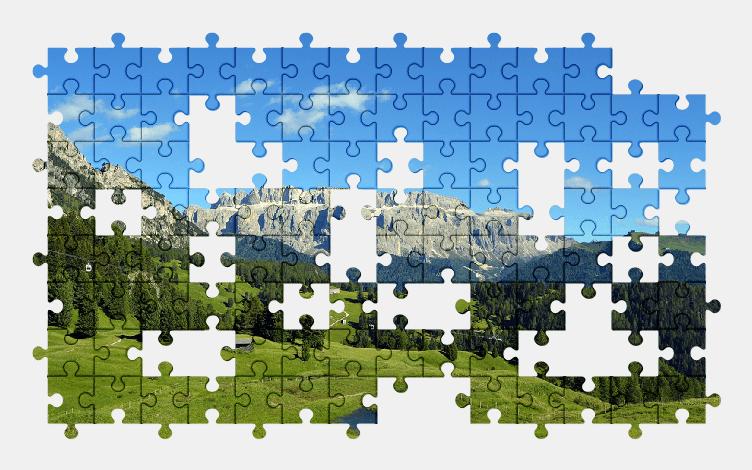 Puzzle - Krajobraz #27