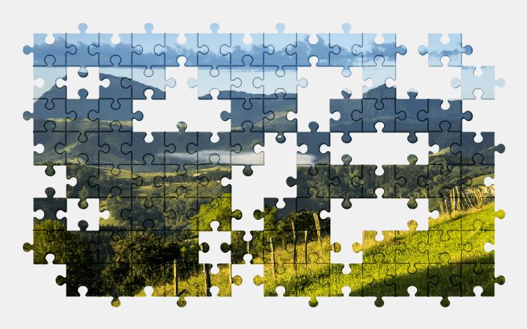 Puzzle - Krajobraz #21