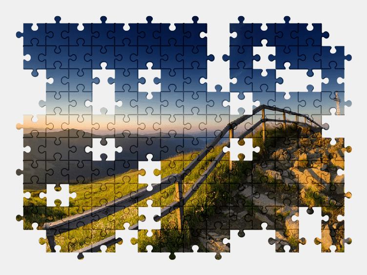 Puzzle - Krajobraz #28