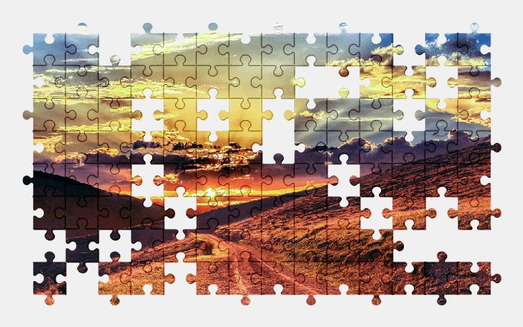 Puzzle - Krajobraz #3