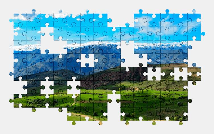 Puzzle - Krajobraz #26
