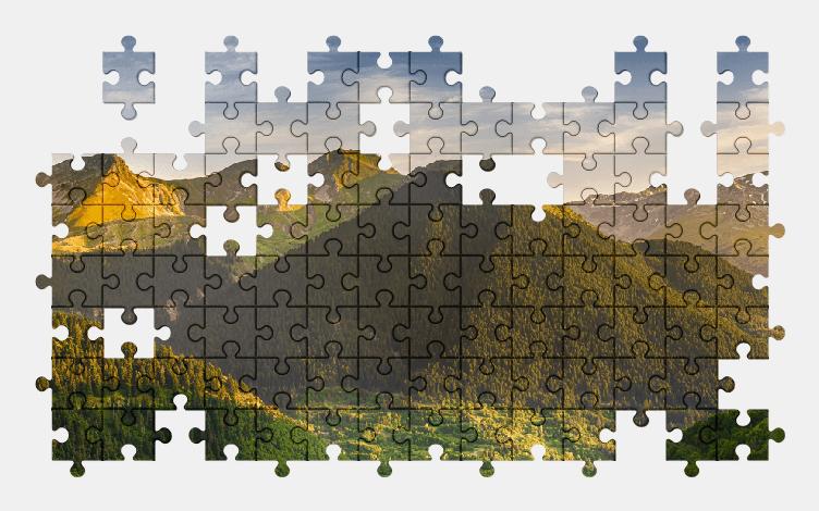 Puzzle - Krajobraz #8