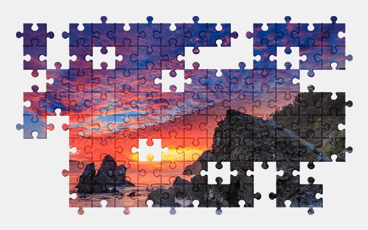 Puzzle - Krajobraz #1
