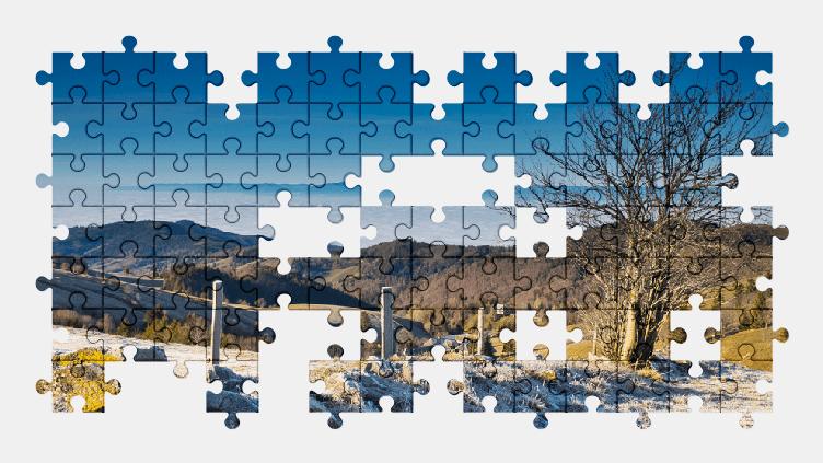 Puzzle - Krajobraz #5