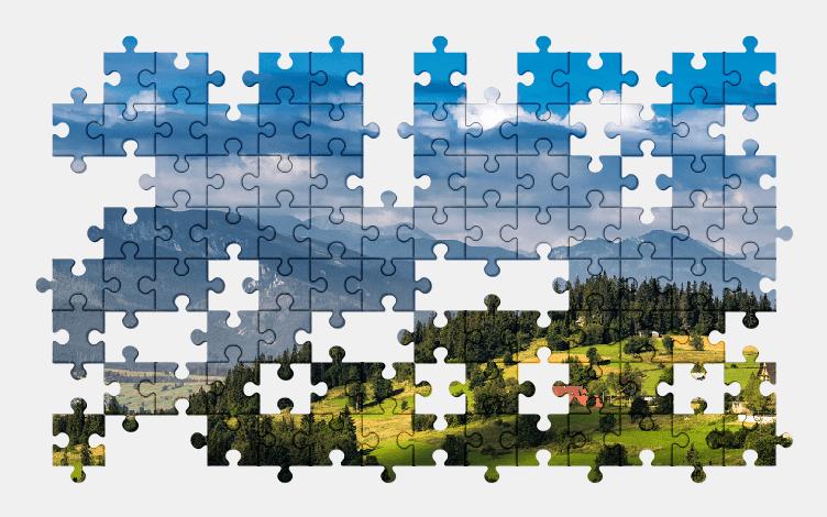 Puzzle - Krajobraz #11
